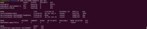 Screenshot panneau de commande